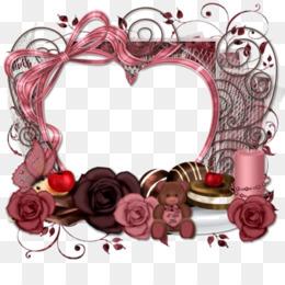 Love Background Frame