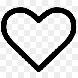 Simple Heart coloring page | Free Printable Coloring Pages