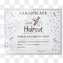 Free Haircut Certificate Template from icon2.cleanpng.com