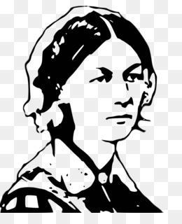 Cartoon Florence Nightingale Lamp