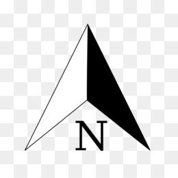North Arrow Background