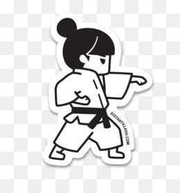 Martial Arts Uniform Sleeveless Gi Top for Karate Black//White//Red Taekwondo