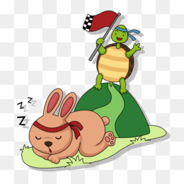 Tortoise And The Hare Png And Tortoise And The Hare Transparent