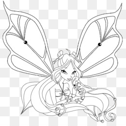 Bloom, transformation sirenix coloring pages - Hellokids.com | 260x260