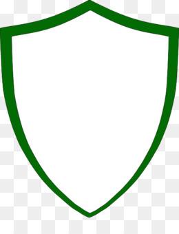Vector Wappenschild Auf Weissem Hintergrund