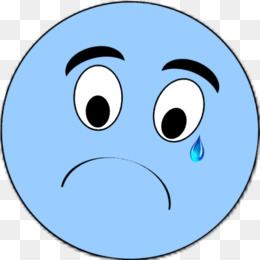 Face Crying Smiley Sadness Clip Art - Clipart Transparent PNG