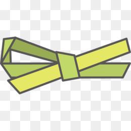 Green Background Ribbon