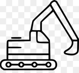 Free Download Excavator Black Png