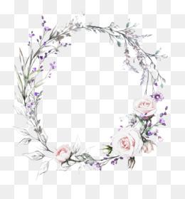 Flowers Wedding Invitation Watercolor
