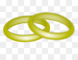 Ehering Verlobungsring Goldene Hochzeit Ring Vektor Png