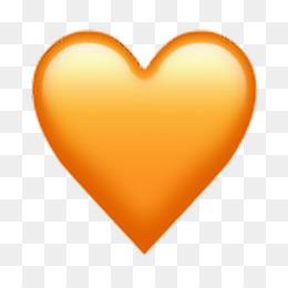 kisspng emoji heart vector graphics clip art image corazon naranja emoji sticker by karen 5c421fb5484be5.4630612915478373652961