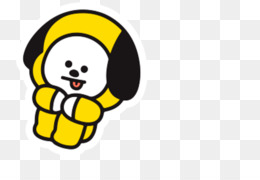 kisspng bt21 official bts merchandise by line friends bt21 chimmy bt21 kpop bts jimin cute dog yellow 5ca696c3aedc17.7555955215544214437162