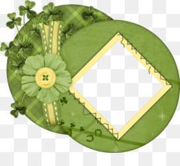 Green Background Frame