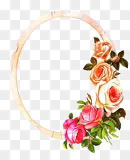 Background Flowers Frame