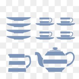 T.G.Green Cornishware Mug Tableware Kitchenware Saucer