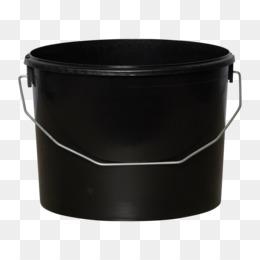 Bucket Plastic Lid Paint Liter