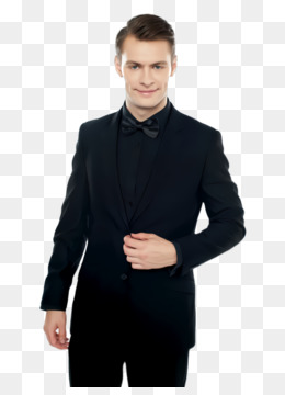 clothing suit black outerwear formal wear