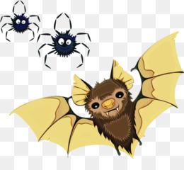 cartoon clip art bat fictional character plant