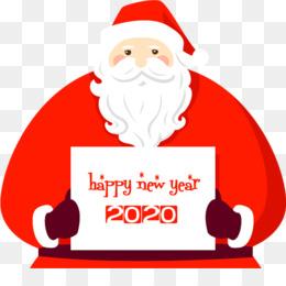 happy new year 2020 santa