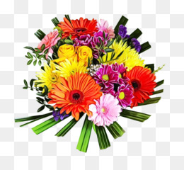 flower bouquet cut flowers gerbera barberton daisy