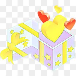 yellow heart hand gesture love