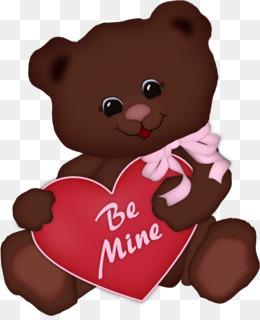 Teddy bear love valentine's day