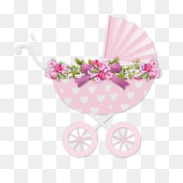 pink baby products vehicle carriage cart