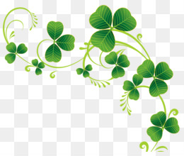 St. Patrick's Day Shamrock vine
