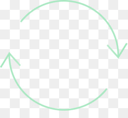 green circle line oval