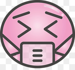 Emoji with medical mask COVID Corona Virus Disease