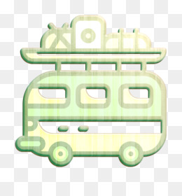 Travel icon Camper van icon