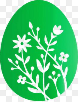 floral egg Easter Day