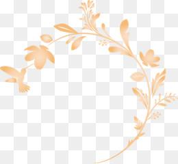 flower frame floral frame decoration frame