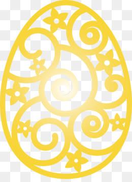 Easter Floral Egg Easter Day