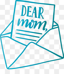 Mothers Day Dear Mom Envelope
