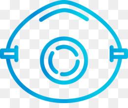 aqua circle turquoise line symbol