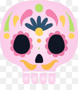 pink m petal pattern