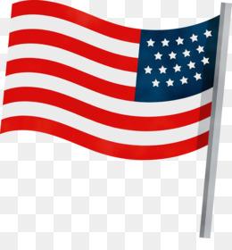 flag of the united states line united states flag meter
