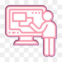 Screen icon Monitor icon Computer Technology icon