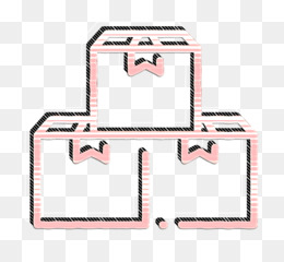 Logistic icon Shipping and delivery icon Box icon