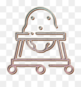 Baby walker icon Baby Shower icon Kid and baby icon
