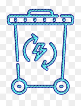 Reneweable Energy icon Recycle bin icon Trash icon