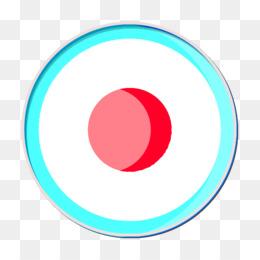 Dot icon Media Technology icon Record icon
