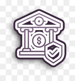 Business and finance icon Insurance icon Savings icon