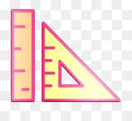 Graphic Design icon School material icon Ruler icon