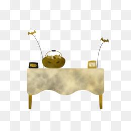 metal yellow meter table chemistry
