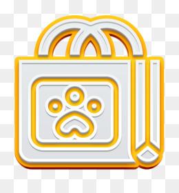 Shopping bag icon Retail icon Pet Shop icon