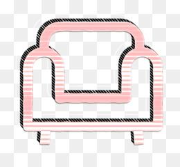 Armchair icon Sofa icon Furniture icon