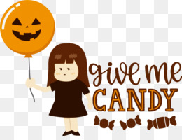 Give me candy Halloween Trick or Treat
