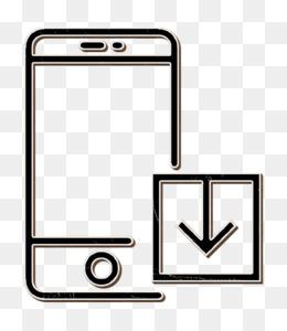 Interaction Set icon Iphone icon Smartphone icon